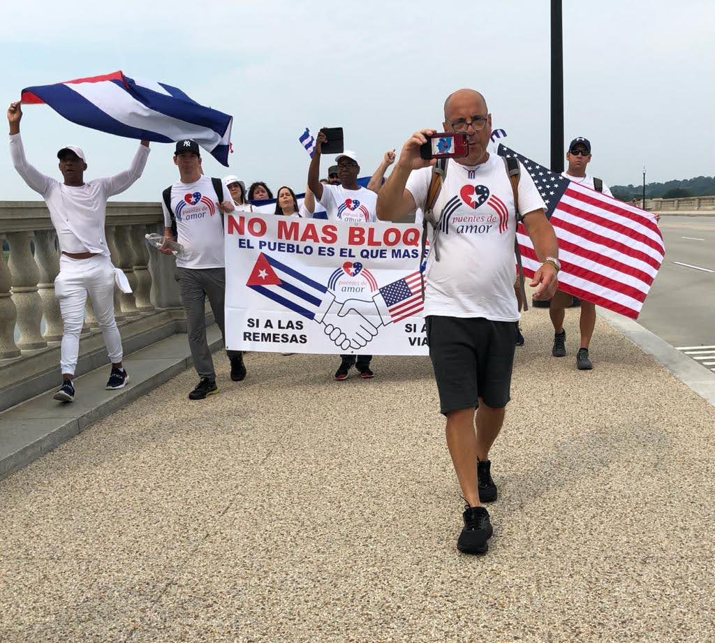 DC Rally and Multiple Caravans: 'End the Cuban Embargo!' 'Stop the Sanctions!'